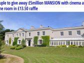 بالصور .. عرض قصر للبيع سعره الحقيقي بأكثر من 6 مليون دولار في بريطانيا   .. بـ 18 دولارا فقط