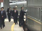 شاهد .. ردة فعل حراس كيم لحظة وصول قطاره المصفح إلى فلاديفوستوك !