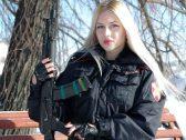 شاهد بالصور: الحرس الوطني الروسي يختار ملكة جماله