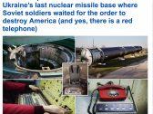 شاهد لأول مرة : لقطات مذهلة من آخر قاعدة صواريخ نووية للاتحاد السوفيتي في أوكرانيا!