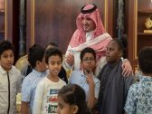 """بعدما وجه دعوة لهم .. """"وزير الداخلية"""" يلتقي عددا من الأطفال المشاركين في سباق الوفاء للشهداء"""