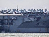 خطوة أمريكية مفاجئة تجاه إيران.. حاملة طائرات وقوة قاذفات تبدأ التحرك و«بولتون» يكشف السبب