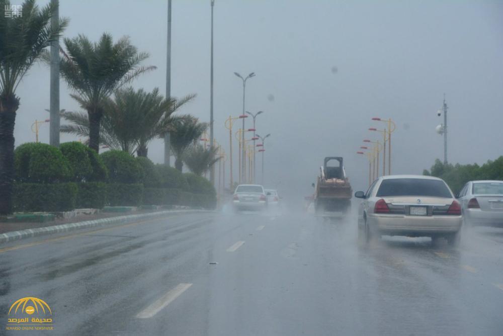 """""""الأرصاد"""" تحذر: أمطار رعدية مصحوبة بزخات برد ورياح نشطة على ٦ مناطق"""