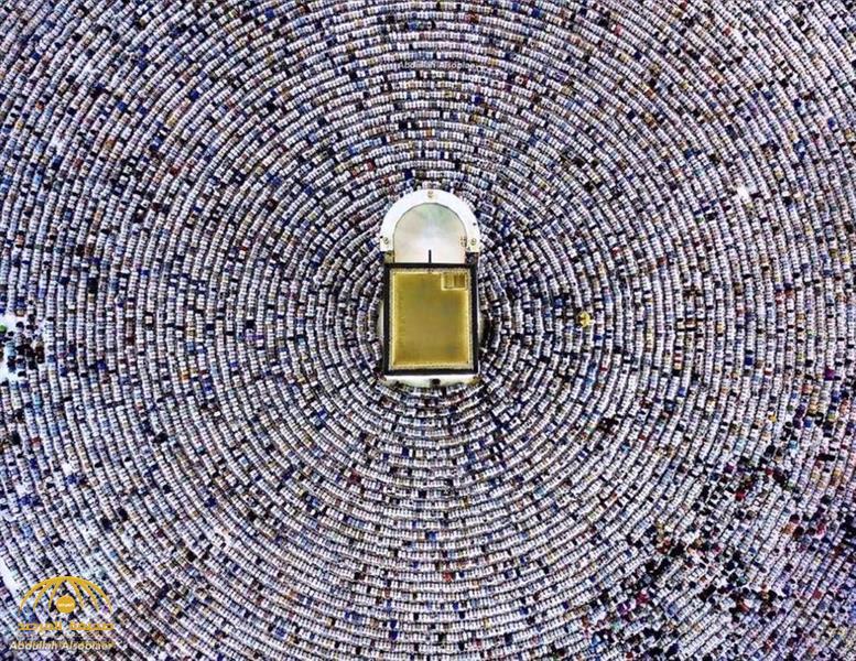 سر صورة «صحن الطواف» التي انتشرت كالنار في الهشيم بين السعوديين.. صاحبها يتحدث للمرة الأولى