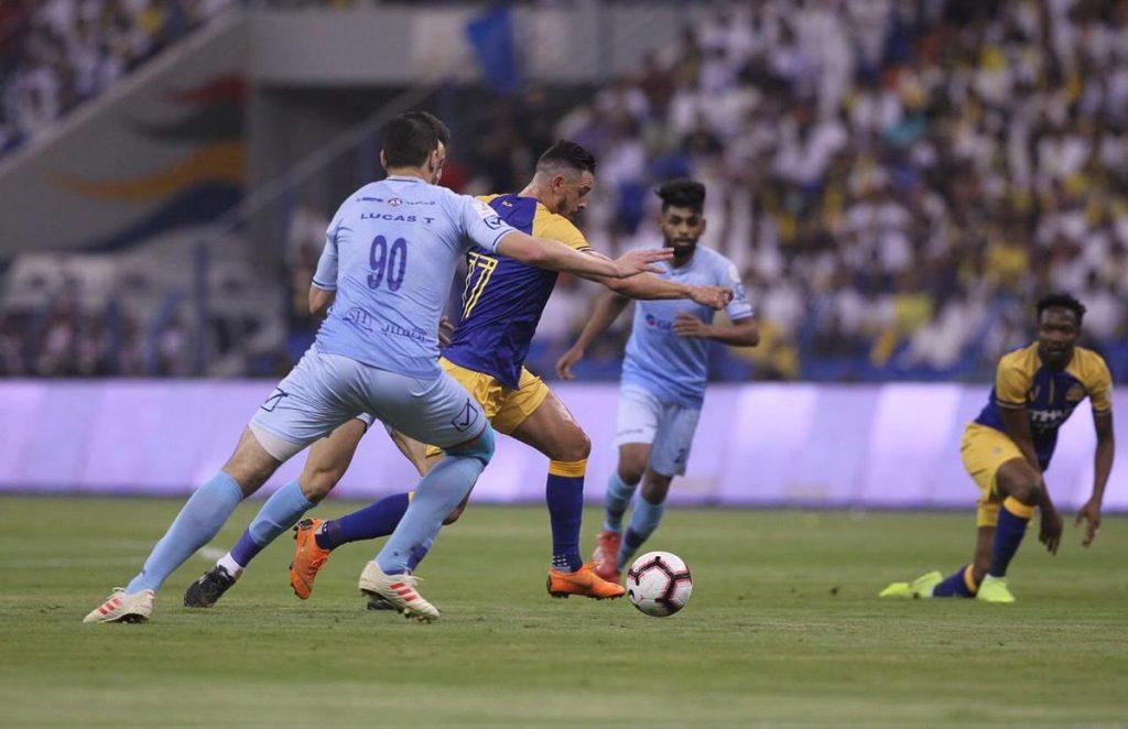 """بالفيديو : النصر يحقق التوقعات ويتوج بطلاً لـ """"دوري كأس الأمير محمد بن سلمان"""""""