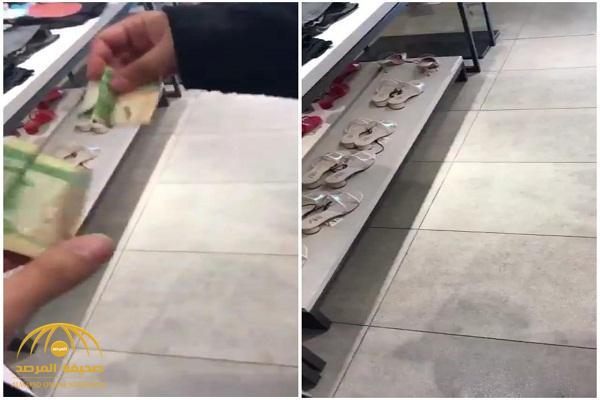 "69e6e55d36b1c شاهد  مدير""لبناني"" داخل محل ملابس شهير يسخرمن الموظفات السعوديات ويقدم لهن  ريال لتنظيف الأرضية!"