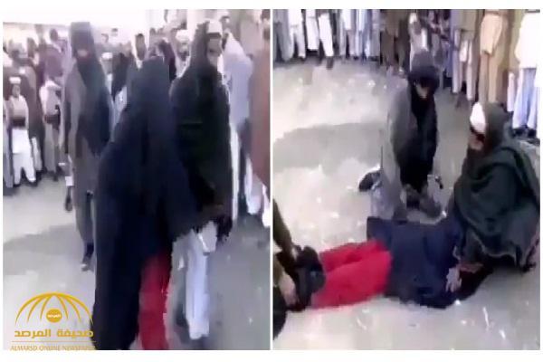 مقطع فيديو متداول ..شاهد: حركة طالبان الأفغانية تعاقب امرأة بالجلد .. والأخيرة تصرخ!
