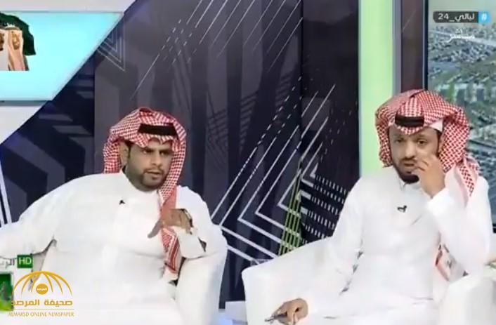 """""""المريسل"""": المتحدث باسم """"اتحاد الكرة"""" محمد الشيخ """"هلالي"""".. و""""الحمد"""" يفاجئه بسؤال صادم (فيديو)"""