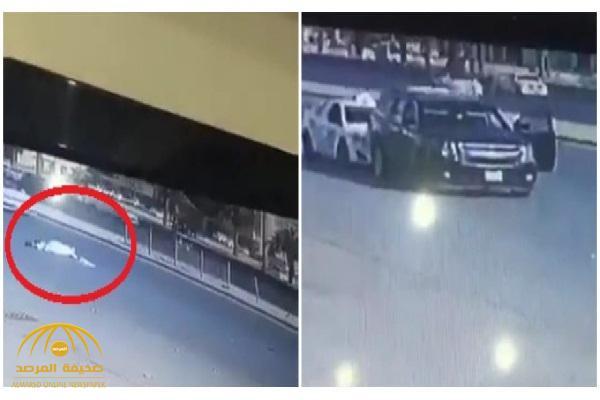 """شاهد: سرقة سيارة بـ""""الصدم المتعمد"""" في وضح النهار بـ""""الرياض"""" .. والكشف عن مصير السائق"""