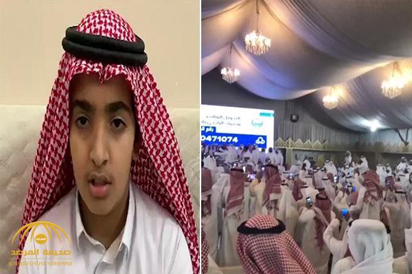بعد مناشدة طفله .. إكمال 6 ملايين ريال دية حمد الرشيدي – فيديو