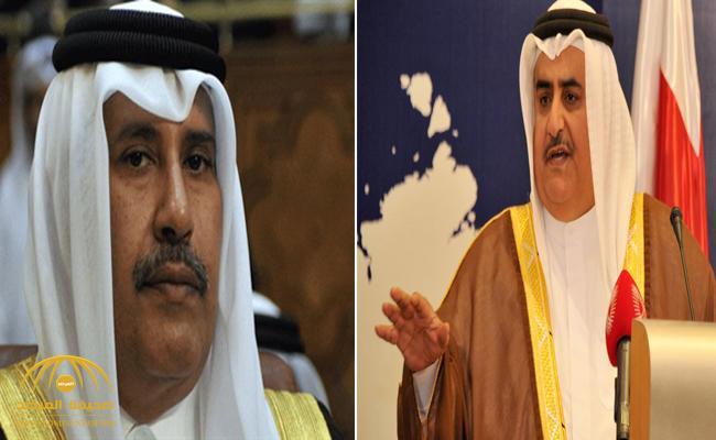 """وزير خارجية البحرين يرد على تغريدات حمد بن جاسم حول """"هدم مجلس التعاون"""""""