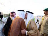 بالصور: ملك مملكة البحرين يصل إلى جدة