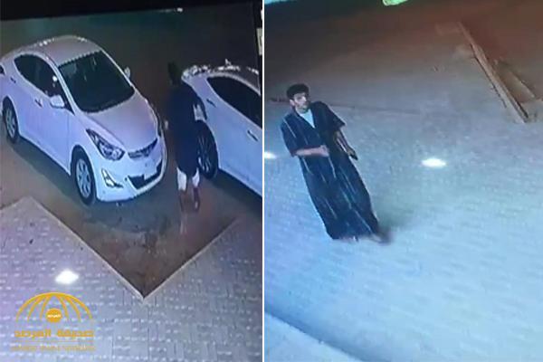 كاد أن يقتل صاحبها.. شاهد: لص يسرق سيارة من أمام محل في الرياض كانت في وضع التشغيل
