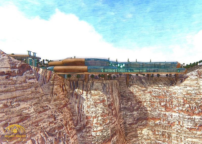 """شاهد .. تصميم مقترح لمركز ثقافي بالقدية على """"حافة العالم"""""""