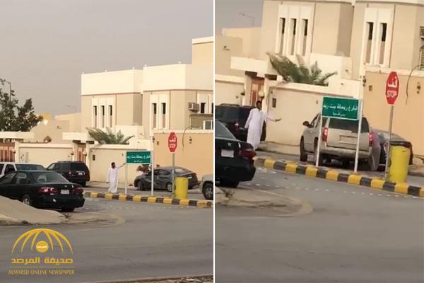 بالفيديو .. مشاجرة بين سائقين في حي بالرياض تنتهي بانتقام صادم !