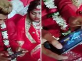 """شاهد بالفيديو.. عريس يترك عروسه في حفل زفافهما ليلعب """"بابجي""""!"""