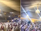شاهد ..  فرحة عارمة ورقص في الكويت وسط مقر لجمع دية شروق المطيري