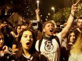 بعد قرار إلغاء الانتخابات في اسطنبول .. احتجاجات للمعارضة التركية بشوارع المدينة