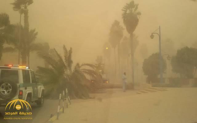 """""""الأرصاد"""": رياح مثيرة للأتربة تضرب هذه المناطق اليوم.. وسحب رعدية تُصيب أخرى"""