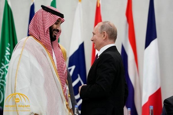 """على هامش قمة العشرين..  شاهد: حديث وديٍّ بين ولي العهد والرئيس الروسي """"بوتين"""""""