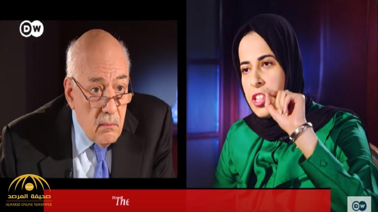 """بعد مواجهتها بتورط بلادها في أنشطة إرهابية ..مسؤولة قطرية تهاجم مذيع قناة ألمانية :""""لا تملي علي ما أقول""""!"""