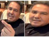"""بالفيديو .. أول تعليق  من """"محمد عبده """" على حادثة """"الجرادة"""" أثناء حفله في القصيم"""