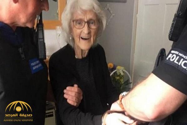 سبب غريب يدفع الشرطة البريطانية للقبض على مسنة تجاوزت الـ 90 عاما !