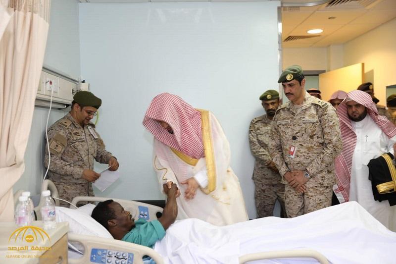 بالصور .. معالي النائب العام يزور الجنود المرابطین في الحد الجنوبي