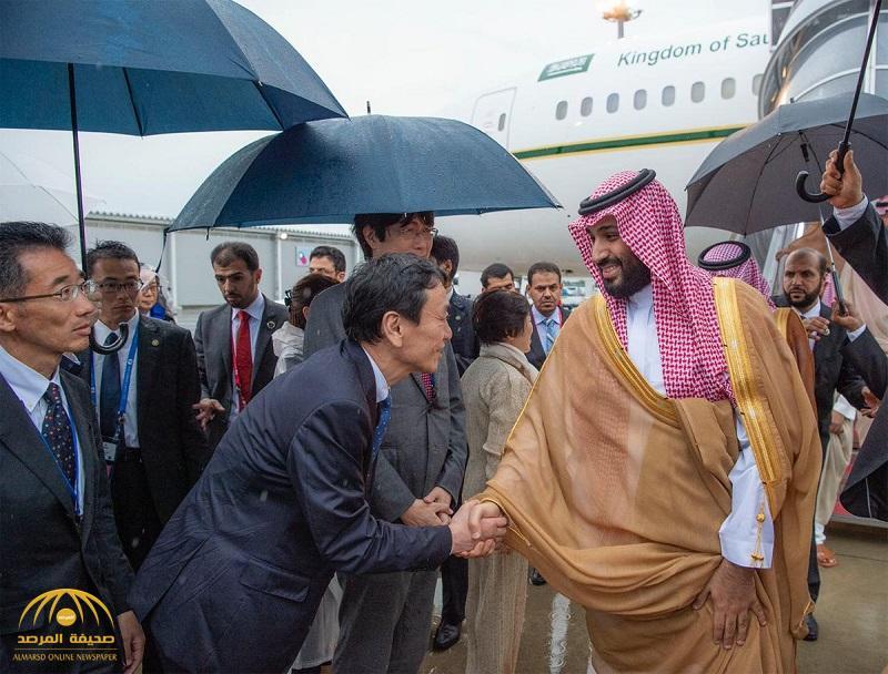 بالصور .. ولي العهد يصل مدينة أوساكا اليابانية لرئاسة وفد المملكة المشارك في قمة قادة دول مجموعة العشرين