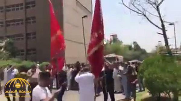 شاهد : عرضة عشائرية داخل مستشفى في العراق بعد اقتحامها !