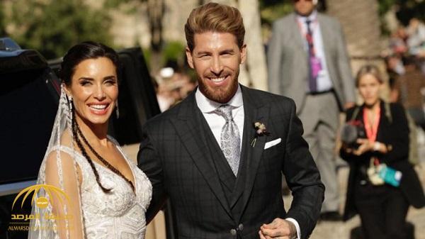 """بالفيديو والصور .. قائد ريال مدريد """"راموس"""" يحتفل بزواجه وسط حضور أشهر لاعبي العالم"""