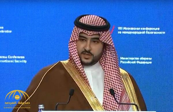 """الأمير خالد بن سلمان : """"سنواجه جرائم ميليشيا الحوثي بحزم لا ينثني وصرامة لا تنكسر"""""""