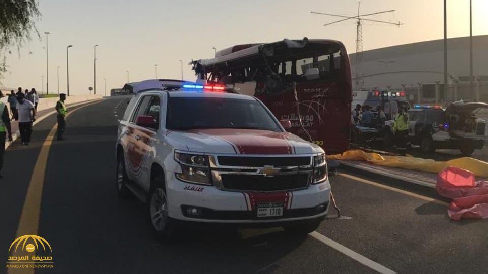 تفاصيل وفاة 17 شخصا في حادث مروع بشارع الشيخ محمد بن زايد بدبي.. وقائد الشرطة يعلق