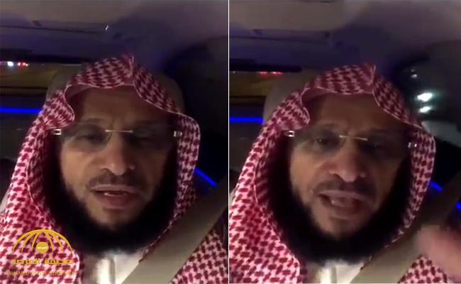 """شاهد .. الداعية عائض القرني يشن هجوماً على الحوثي بعد استهداف مطار أبها … وينشر""""شيلة"""" لبيك يا سلمان"""