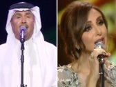 """شاهد.. محمد عبده و""""أنغام"""" و""""الجسمي"""" وخالد عبدالرحمن يتألقون في حفلات العيد بالسعودية"""