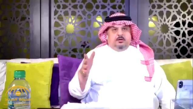"""بالفيديو .. الأمير عبدالرحمن بن مساعد يعلق على سؤال : """"لماذا تقول سيدي ولي العهد وأنت أكبر سنّاً منه؟ """""""