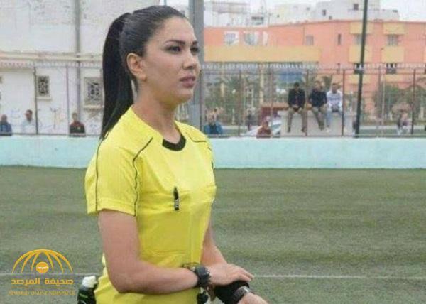 """بالصور .. تعرف على """" درصاف القنواطي"""" أول حكم تونسية تدير الجولة الختامية لدوري تونس"""