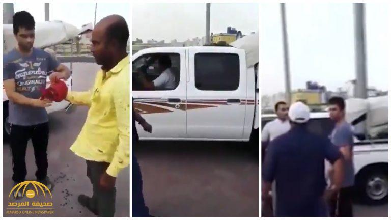 """الكويت .. بائع """"حبحب"""" يطعن شخص خلال مشاجرة – فيديو"""