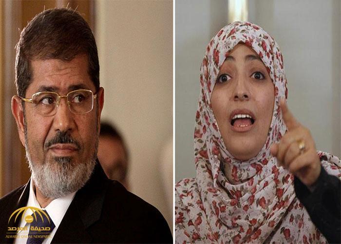 """بعد تغريدة """"آخر الأنبياء"""" .. مرة أخرى: """"توكل كرمان"""" تغرد عن مرسي وتثير جدلًا واسعًا"""