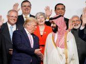 شاهد.. احتفاء ترامب بولي العهد على هامش قمة العشرين!