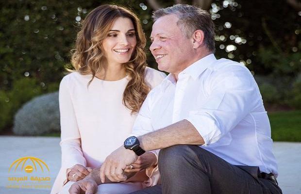 كيف احتفلت الملكة رانيا بعيد زواجها بملك الأردن ؟ – صورة