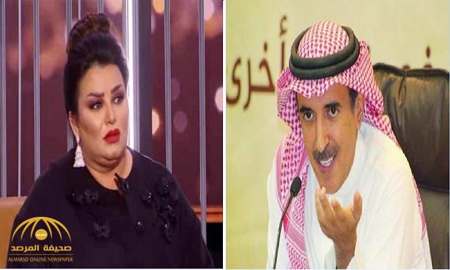 """بعد مدحها أمير قطر.. كاتب سعودي منتقدا الفنانة الكويتية """"منى شداد"""": الممثلون لا يلعبون أدوارهم بالمجان!"""