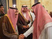 """كيف فاجأ """"الملك سلمان"""" لاعب """"الهلال"""" السابق صالح النعيمة أثناء السلام عليه؟"""