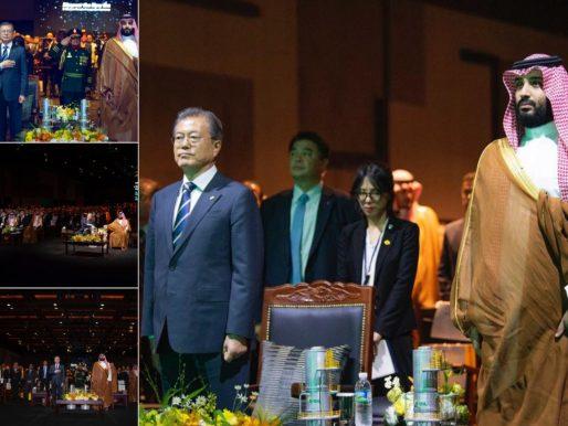 """بالصور.. ولي العهد يدشن مشروع توسعة مصفاة """"إس أويل"""" في كوريا الجنوبية"""
