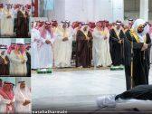 """شاهد بالصور: صلاة الجنازة على الأميرة """"الجوهرة بنت عبدالعزيز بن مساعد"""" بالمسجد الحرام"""