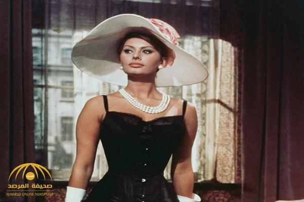 """شاهدوا .. كيف أصبحت """"أيقونة الجمال"""" الممثلة الإيطالية """"صوفيا لورين"""" بعد بلوغها الـ 84 عاماً"""