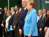 """للمرة الثالثة … شاهد: المستشارة الألمانية """"أنغيلا ميركل"""" تصاب  برجفة """"غريبة"""" أثناء استقبال رئيس وزراء فنلندا!"""