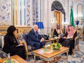 الملك سلمان يستقبل المفوض السامي الجديد لمنتدى الأمم المتحدة لتحالف الحضارات