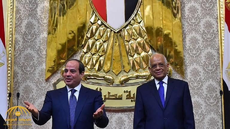 """رئيس البرلمان المصري: """"ولائي بعد الله للسيسي"""""""