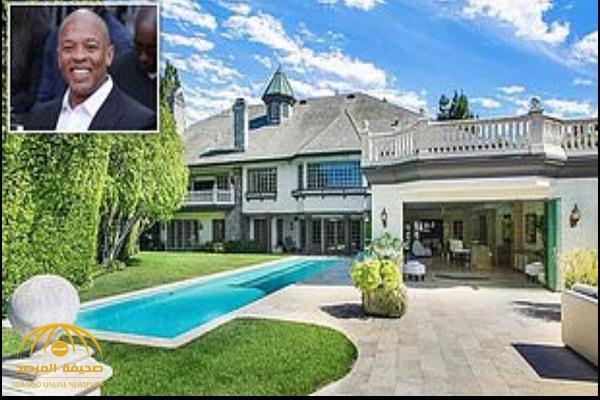 """بالصور: شاهد.. قصر  مغني الراب الأمريكي """"دري"""" الفاخر للبيع في لوس أنجلوس"""